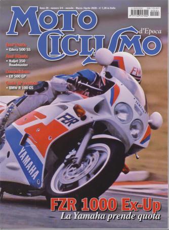 Motociclismo d'epoca - n. 4 - mensile - marzo - aprile 2020 -