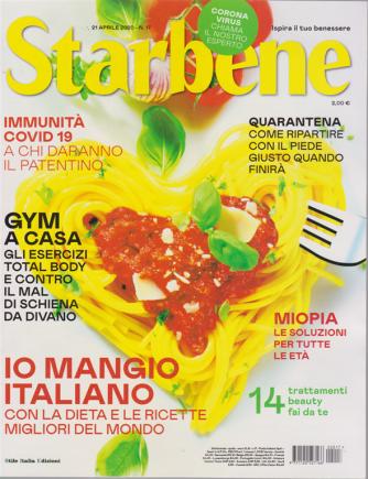 Starbene - n. 17 - settimanale - 21 aprile 2020