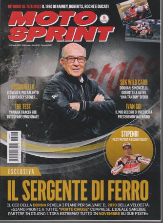 Motosprint - n. 16 - settimanale - 21/27 aprile 2020