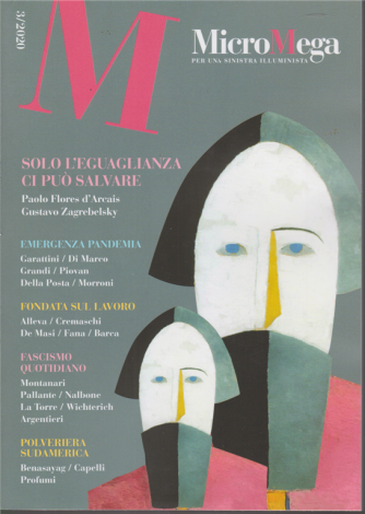 Micromega - n. 3 - 30 aprile 2020 - bimestrale