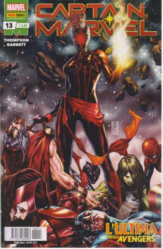 Captain Marvel - n. 13 - L'ultima degli Avengers - n. 13 - mensile - 30 aprile 2020