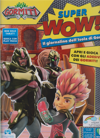 Gormiti Super Wow ! - n. 3 - maggio - giugno 2020 - bimestrale -