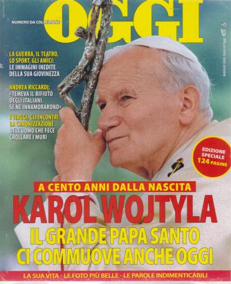 Nomi di Oggi - Papa Wojtyla - A cento anni dalla nascita - maggio 2020 - edizione speciale  - 124 pagine