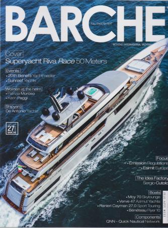 Barche - n. 5 - maggio 2020 - mensile - italiano - inglese