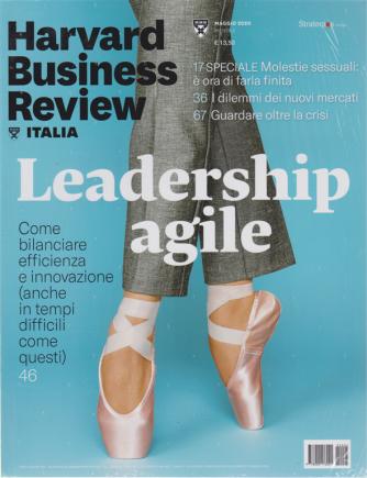 Harward Business Review - Leadership  agile - n. 5 - maggio 2020 - mensile