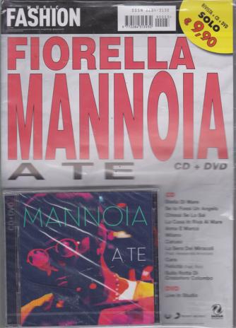 Music Fashion Var.93 - Cd Fiorella Mannoia - n. 3 - rivista + cd + dvd - A te -