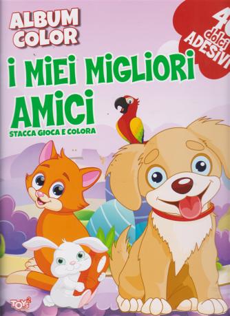 Album color  - I miei migliori amici - bimestrale - 21 marzo 2019 - 40 dolci adesivi