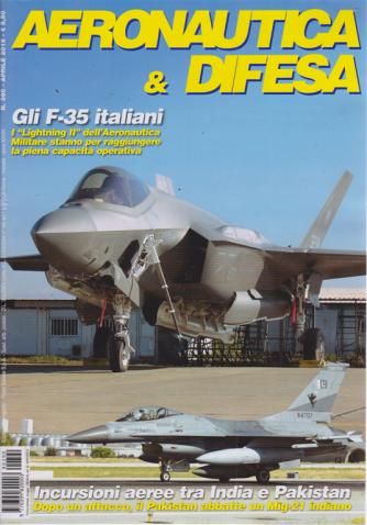Aeronautica & Difesa - n. 390 - aprile 2019 - mensile