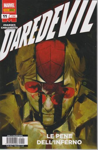 Devil e Cavalieri Marvel - n. 104 - Le pene dell'inferno - mensile - 7 maggio 2020