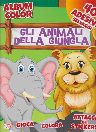Toys2 Gold - Album color - Gli animali della giungla - n. 51 - bimestrale - 23 aprile 2020 -