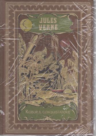 Jules Verne- Robur il conquistatore - n. 33 - settimanale - 9/5/2020 - copertina rigida