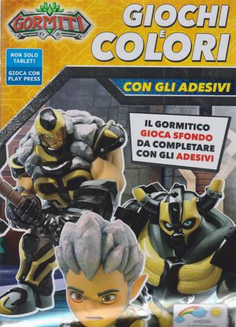 Gormiti Giochi e colori - n. 7 - maggio - giugno 2020 - bimestrale -