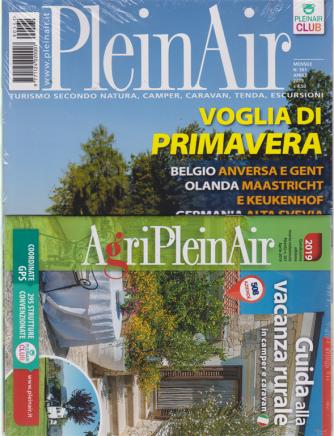 Plein Air - n. 561 - aprile 2019 - mensile + Guida alla vacanza rurale in camper e caravan 2019 - quindicesima edizione + PA Market n. 561 - aprile 2019