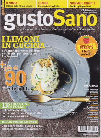 Gustosano - n. 61 - mensile - aprile - maggio 2020 -