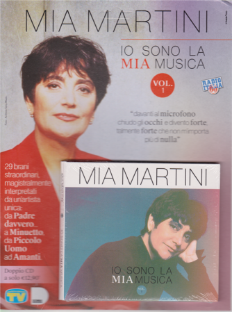 Cd Sorrisi e Canzoni n. 10 - 12/5/2020 - settimanale - Mia Martini - Io sono la mia musica - doppio cd - vol. 1