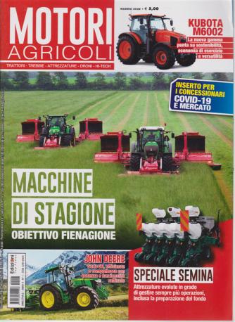 Motori Agricoli - n. 1 - maggio 2020 - bimestrale