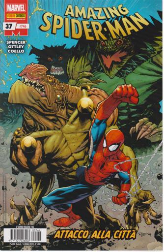 Uomo Ragno - Amazing Spider-Man n. 746 -Attacco alla città -  quindicinale - 14 maggio 2020 -