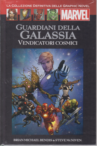 Graphic Novel Marvel - Guardiani della galassia - Vendicatori cosmici - n. 46 - 16/5/2020 - quattordicinale - copertina rigida