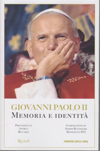 I Manuali del Corriere della sera - Giovanni Paolo II - Memoria e identità - n. 2 - mensile -