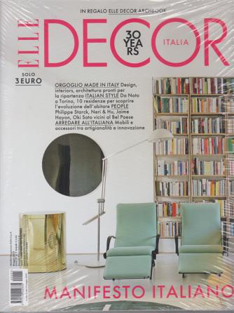 Elle Decor- n. 5 - maggio 2020 - mensile - 2 riviste