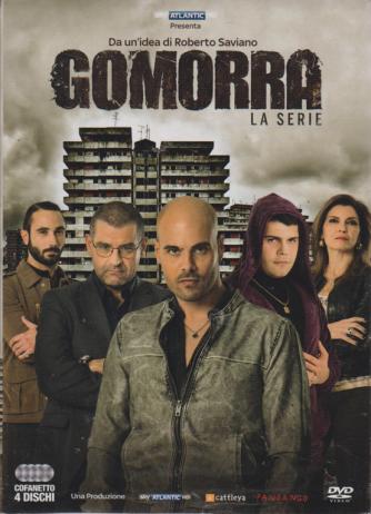 I Dvd Di Sorrisi6 - n. 12 - 2 aprile 2019 - Da un'idea di Roberto Saviano Gomorra la serie - cofanetto prima stagione 4 dischi