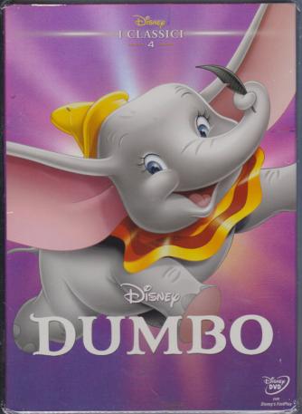 I Dvd Di Sorrisi - Dumbo . I classici Disney - n. 9 - 2/4/2019 -