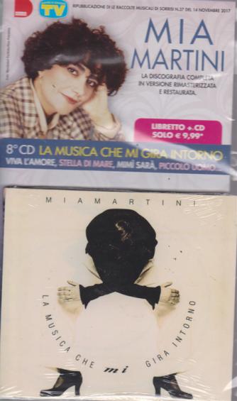 Grandi Raccolte Musicali di Sorrisi 4 n. 8 - settimanale - 2/4/2019 - Mia Martini - 8° cd La musica che mi gira intorno - libretto + cd