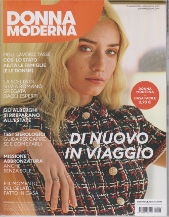 Donna Moderna + Casa facile - n. 23 - 21 maggio 2020 - settimanale - 2 riviste