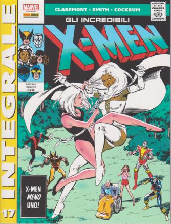 Marvel Integrale - Gli incredibili X-Men - n. 17 - mensile 14 maggio 2020 -