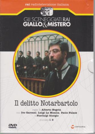 Gli sceneggiati rai Giallo & mistero - Il delitto Notarbartolo - puntate 1-3 - n. 72 - settimanale - 23/5/2020