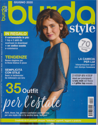 Burda style - n. 6 - giugno 2020 - mensile