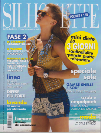 Silhouet.Donna Pocket - n. 6 - giugno 2020 - mensile