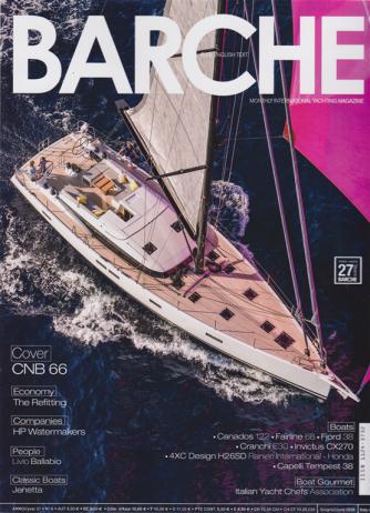 Barche - n. 6 - giugno 2020 - mensile - italiano inglese