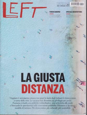 Left Avvenimenti - n. 22 - settimanale - 29 maggio 2020 - 4 giugno 2020 -