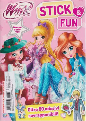 Winx Club Stick Fun - n. 65 - 29/5/2020 - bimestrale -