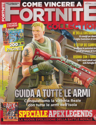 Come vincere a Fortnite collection - n. 1 - bimestrale - giugno - luglio 2020 - 2 numeri - 200 pagine!