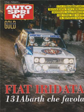 Autosprint Gold Collection - n. 3 - Fiat Iridata -