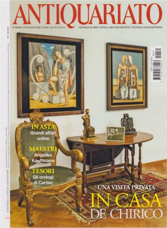 Antiquariato - n. 470 - giugno 2020 - mensile
