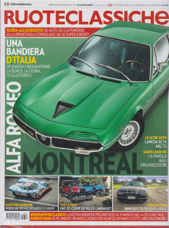 Ruoteclassiche + Leggenda Alfa Romeo - n. 378 - giugno 2020 - mensile - 2 riviste