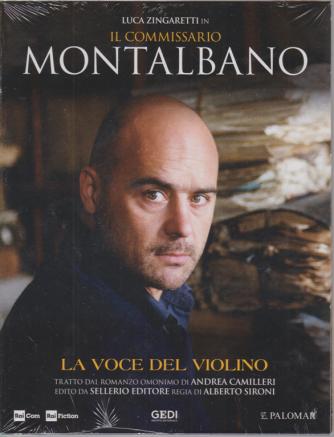 Luca Zingaretti in Il commissario Montalbano - La voce del violino - n. 12 - settimanale -