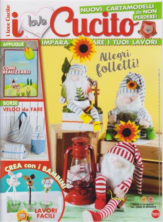 I Love Cucito - n. 35 - bimestrale - giugno - luglio 2020 -