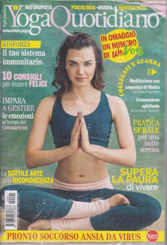 Nuovo Yoga Quotidiano + 1 numero di We Veg - n. 1 - bimestrale - giugno - luglio 2020 - 2 riviste