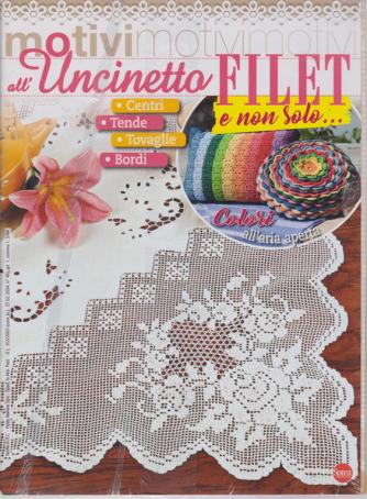 Motivi all'uncinetto - Filet e non solo - n. 34 - bimestrale - giugno - luglio 2020 - 2 riviste