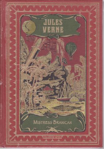 Jules Verne - Mistress Branican - n. 37 - settimanale - 6/6/2020 - copertina rigida