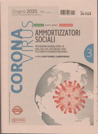 Coronavirus - Ammortizzatori sociali - n. 3 - giugno 2020 - mensile