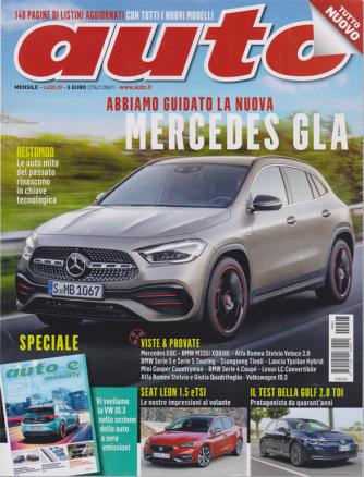 Auto - n. 7 - mensile - luglio 2020