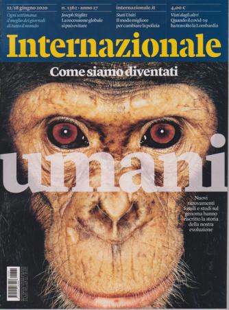 Internazionale - n. 1362 - 12/18 giugno 2020 - settimanale