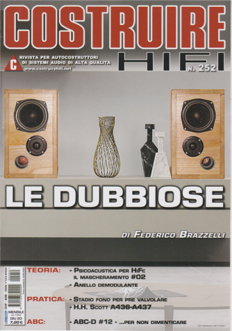 Costruire Hi-Fi - n. 252 - mensile - 10/6/2020