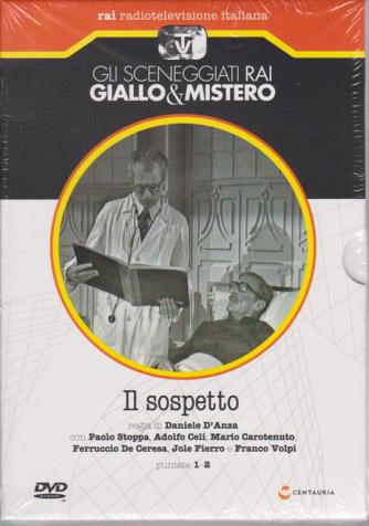 Gli sceneggiati Rai Giallo & Mistero - Il sospetto - puntate 1-2- settimanale - 13/6/2020 - n. 75
