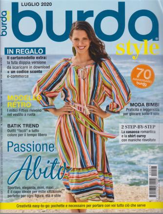 Burda style - n. 7 - luglio 2020 - mensile